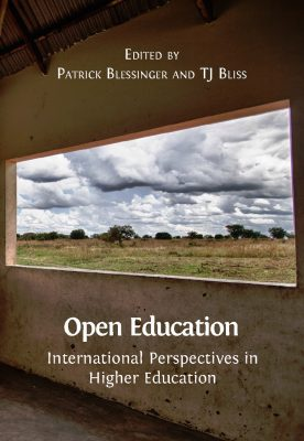 Cover of book Open Education International Perspectives in Higher Education