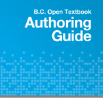 Book cover for BC Campus OER Texbook Authoring Guide
